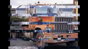 Some Old Chevrolet, And GMC Semi Trucks - YouTube