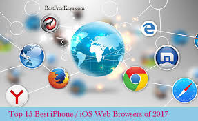 10 Best iPhone Browser 2017 to Browse Web Faster In iOS