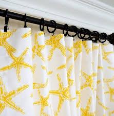 yellow curtains yellow grey window curtain nautical