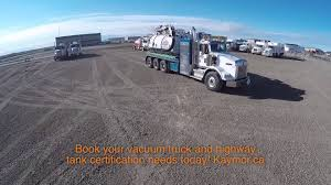 100 Vacuum Truck Services Kaymor Highway Tank Certification And Vac YouTube