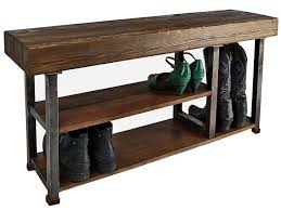 Best 25 Shoe Storage Benches Ideas On Pinterest Dyi Intended For Rustic Entryway Bench With Decor