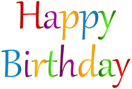 View full size Happy Birthday Transparent Background