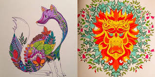 Her Second Coloring Book Enchanted Forest Came Out In February And Has Intrigued A New Set Of Hungry Adults Who Have Channeled Unleashed