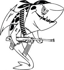Shark Coloring Pictures To Print Sharkboy And Lavagirl Pages