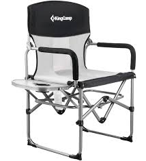 KingCamp Heavy Duty Compact Camping Folding Mesh Chair With Side Table And  Handle Lawn Chair Webbing Replacement Nylon Material Repair Kits For Plastic Alinum Folding Chairs Usa High Back Beach Old Glory With White Arms Telescope Outdoor Fniture Parts Making Quality Webbed Pnic Charleston Green I See Your Webbed Lawn Chair And Raise You A Vinyl Tube Vtg Red Blue Child Kid Patio The Home Depot Weave Seats With Paracord 8 Steps Pictures Cane Cheap Garden Recliner Chama Allterrain Swivel