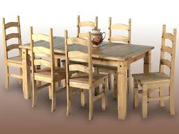 Oregon Pine Dining Room Table For Sale Gauteng Full Size