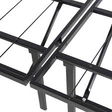 Bed Frames In Walmart by Platform Metal Bed Frame Foldable No Box Spring Needed Mattress