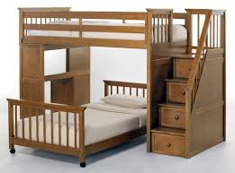 Bedroom Twin Size Loft Bed With Desk And Storage Full Over Full