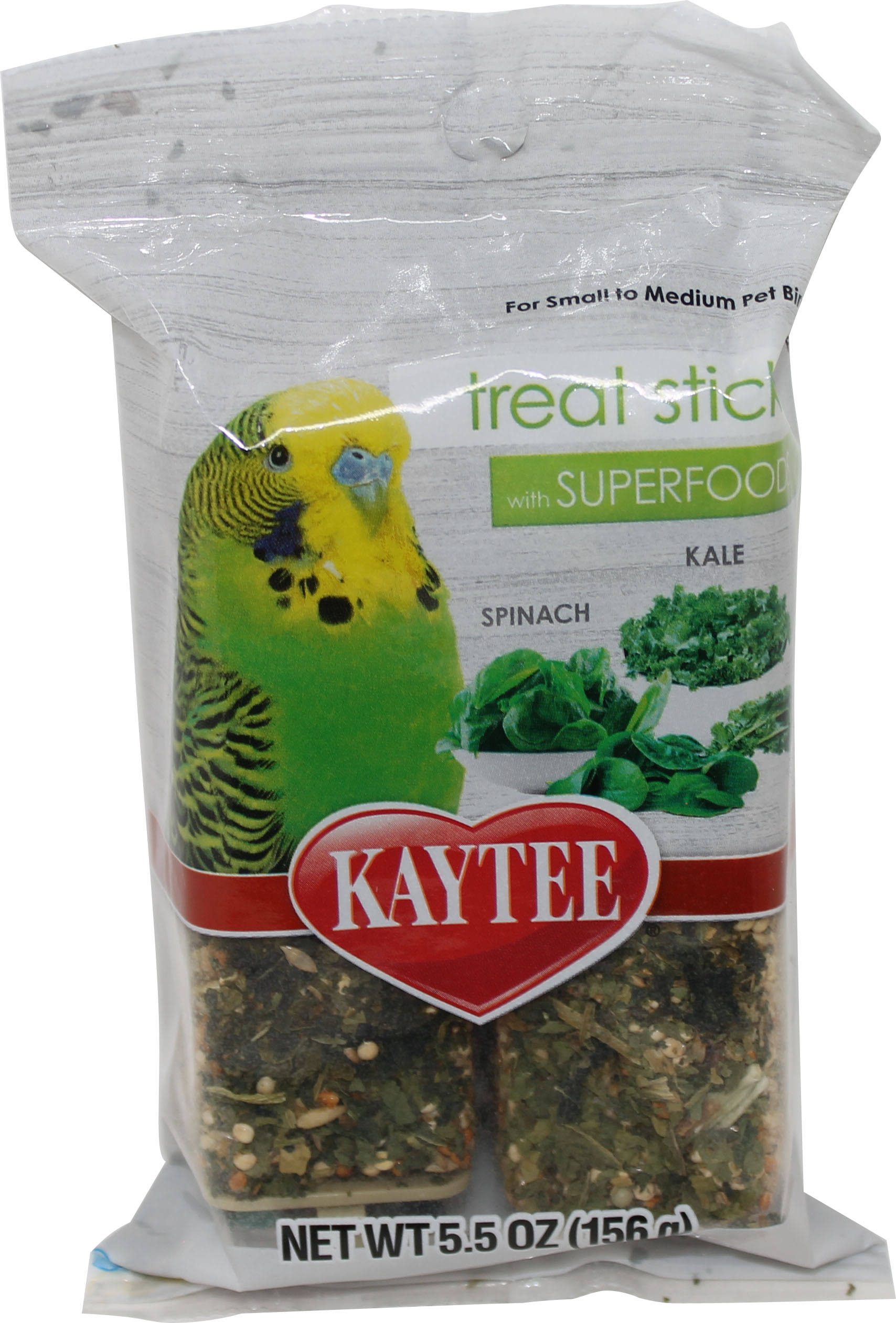 Kaytee Walnut and Almonds Avian Treat Stick with Superfood - 156g