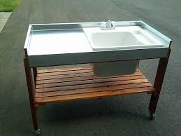 Stainless Steel Fish Cleaning Station With Sink by Best 25 Outdoor Garden Sink Ideas On Pinterest Potting Station