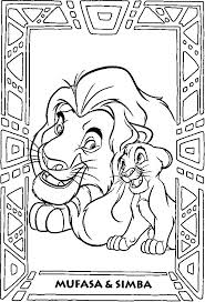 Full Image For Lion King Coloring Pages Google Sagning Disney