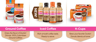 Dunkin Donuts Products Ground Coffee Iced