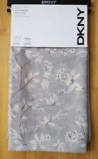 Dkny Mosaic Curtain Panels by Dkny Window Panels Curtains Cream Floral Pattern Mosaic 50 X 96 Ebay