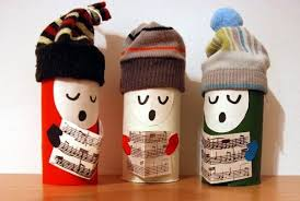 10 Christmas Crafts Projects Made Out Of Toilet Paper Rolls In Diy Cardboard With Roll DIY Craft Advent Calendar