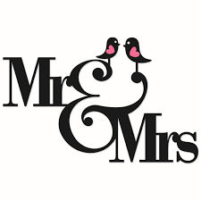 Mr And MrsWedding Cuttable Designs CricutArt ImagesClip