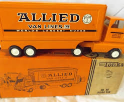 1960's Mini Tonka No. 98 Allied Van Line Truck And Trailer ... 4runner Tonka Trucks Stretch Tundras And Soedup Vans Surprise Blind Boxes Mini Trucks Youtube Tinys Complete Collection By Funrise Hasbro Antiques Art Vintage Truck Crane 1902547977 Cheap Trophy Find Deals On Line At 197039s Toys A Scraper In Yellow Dump Jumbo Foil Balloon Walmartcom 1970s 5 Pressed Steel Lot Set Of 9 Diecast Review Wagoneer With Snowmobile Trailer 1081