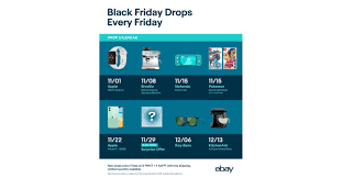 EBay Launches Early Black Friday