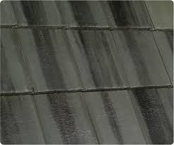 flat roof tile concrete green slate look sea