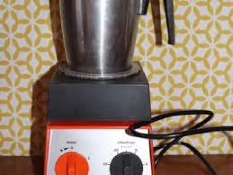 de cuisine thermomix de cuisine vorwerk thermomix vm2000 type 16 orange mixe et