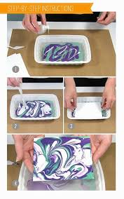 Best DIY Projects Tis Nail Polish Marbling Technique Is A Fun Way To Create Papers