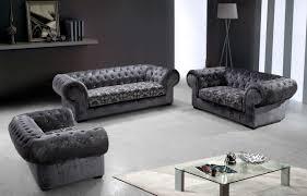 Divani Casa Metropolitan Modern Fabric Sofa Set with Tufted