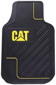 Caterpillar CAT All Weather Rubber Vinyl Front Floor Mats | All ...