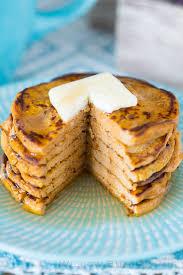 Easy Healthy Pumpkin Pancake Recipe by Five Ingredient Pumpkin Protein Pancakes Low Carb Gluten Free