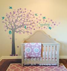 My Purple & Teal Nursery Is 1/2 Way Complete. I Love My Custom ... Baby Nursery Room Boy Style Pottery Barn Kids Wall Decals Callforthedreamcom Irresistible Colorful Tree Owl Image And Vintage Airplane Apartments Cute Art Decorating Ideas Entrancing Of Baby Nursery Room Decoration Mural Outstanding Horse Murals Cheap Sating The Decal Shop Designs Amusing Phoebe Princess 14 Pieces In Tube Ebay Stupendous Cherry Blossom Decor Mural Gratify For Walls