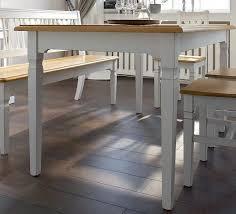 esstisch tisch esszimmertisch esszimmer küchentisch fichte massiv antik weiß lanatura
