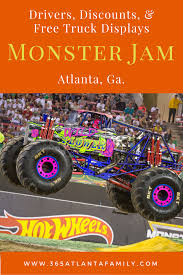 100 Monster Trucks Atlanta FREE Truck Displays Announced For Jam 365