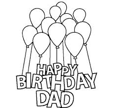 happy birthday card coloring pages birthday printable coloring pages printable coloring pages happy birthday dad for