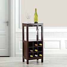 KSP Fontaine Wine Cabinet Red Espresso
