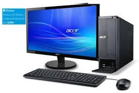pack ordinateur de bureau pc de bureau acer aspire x1430 ob 20 aspirex1430ob20 darty