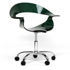Acrylic Desk Chair Ikea by Modern Swivel Office Chair With Caster Wheels And Pneumatic Pump