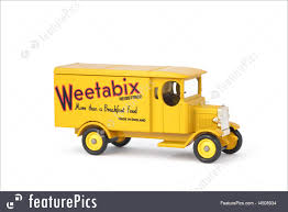 100 Breakfast Truck Toys And Souvenirs Weetabix Delivery Stock Image I4508934