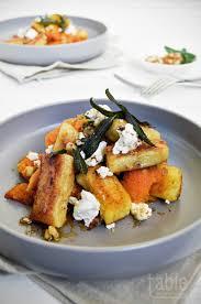 Pumpkin Gnocchi Recipe by Pan Fried Gnocchi With Pumpkin Goat U0027s Cheese U0026 Candied Walnuts