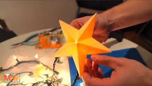 Papercraft Star Lantern On Make Live Ep22