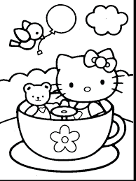 Interesting Free Hello Kitty Coloring Pages Online Pictures To Color And Print Best Images On Kids