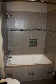 designs compact bathtub with tile front 138 right drain