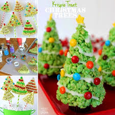 Rice Krispie Christmas Tree Pops by Christmas Tree Treats Christmas Lights Decoration