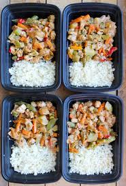 This Peanut Chicken Stir Fry Meal Prep Bowl Is A Healthy Recipe You Can Make Ahead Of Time