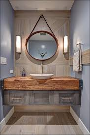Powder Room: Powder Room Vanities With Vessel Sinks Ideas For 49 ... From A Floating Vanity To Vessel Sink Your Ideas Guide Stylish And Diverse Bathroom Sinks Oil Dectable Small Mounting Cabinet Led Gorgeous For Elegant Vanities Sets Design White Mini Lowes 12 Inch Wide 13 Valve 16 Guest With Amazing Tiles In Walk Shower And Cabinets Large Unit Wooden Designs Homebase Grey Corner Modern Exotic Pictures Of Bowl Glass Inspiring Diy Netbul Beautiful 47 High End Bathroom Vessel Sinks Made By