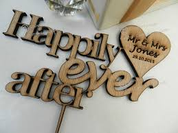 Stunning Personalised Wooden Wedding Cake Toppers ImagesQuotes Mr Mrs