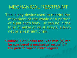 Are Geri Chairs Restraints by East Texas Medical Center Ppt Video Online Download