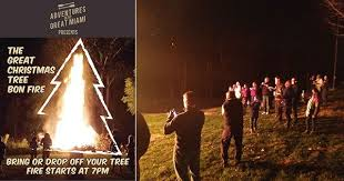 The Great Christmas Tree Bonfire