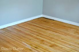 Restaining Wood Floors Without Sanding by How To Remove Carpet And Refinish Wood Floors Part 1 Classy Clutter