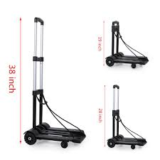 Portable Folding Hand Truck, Heavy Duty 4-Wheel Solid Construction ... Folding Airport Luggage Hand Caportable Steel Foldable Happydeal Hd6711 Black Alinum Portable Cart Trolleys Officeworks Truck Carts Dolly Heavy Duty Wwhosale New Folding Hand Truck Cart Mini Seville Classics 150 Lbs Utility List Manufacturers Of 99 Trolley Buy Get Discount On The 10 Best Portable Trucks For Your Daily Needs Reviews Small Trucks Archives Behostinggcom