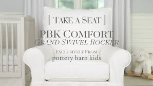 Comfort Grand Swivel Rocker | Pottery Barn Kids - YouTube Console Tables Amazing Appealing Shallow Table In Iron East River Plaza Costco Closest Walmart To Nyc Mhattan Platform Top Pottery Barn Sleigh Bed Suntzu King Combine Ill Never Buy A Sofa Review Interesting Pictures Foam Cushions Nice Visa Uk Next Schindler 300a Elevator At The Former Store Entertain Art Bedroom Benches Target Stunning Fan Size Marvelous Tufted Leather Chesterfield C Kids Baby Fniture Bedding Gifts Registry