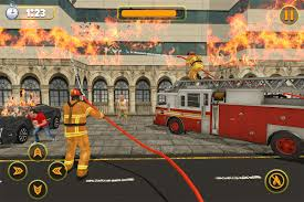 100 Fire Truck Parking Games US City Fighter Rescue Simulator Free Download Of
