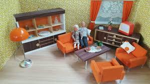 bodo hennig wohnzimmer 70er jahre möbel für die puppenstube
